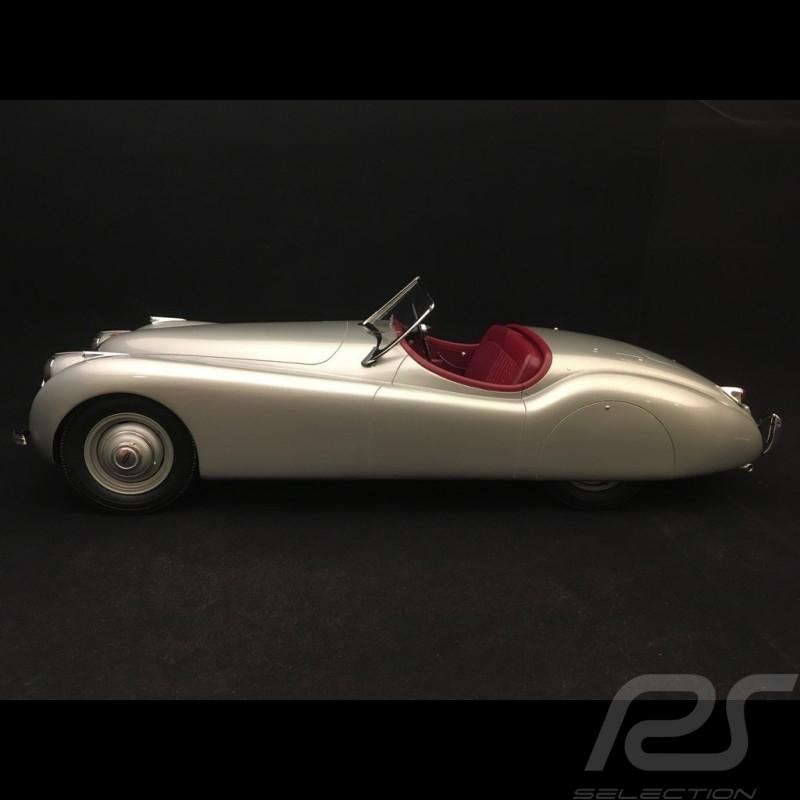 Jaguar XK 120 Cabriolet 1953 gris argent 1/12 12ART-MATRIX 1001011 silver grey silbergrau