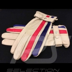 Fahren Handschuhe Gulf creme Leder