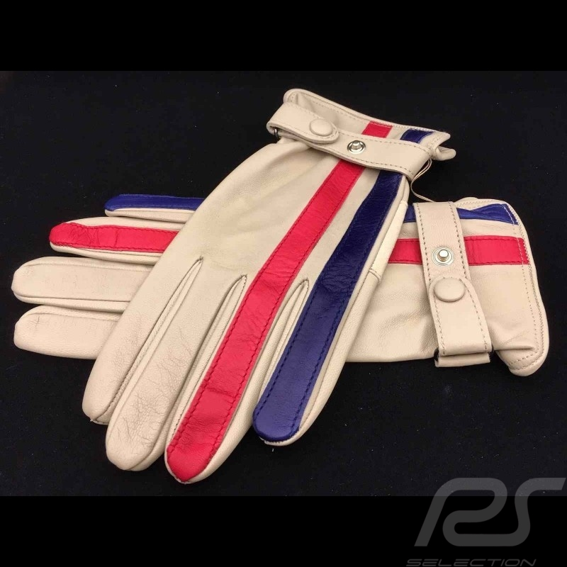 Driving Gloves Gulf cream leather