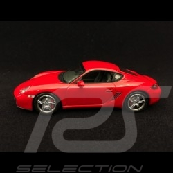 Porsche Cayman S type 987 guards red 1/43 Minichamps 400065620