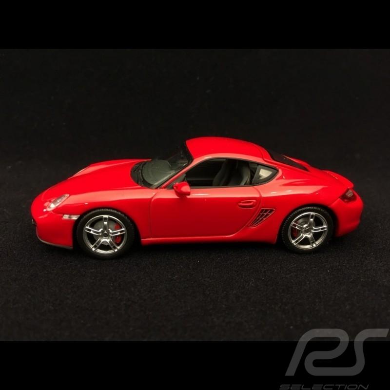 Porsche Cayman S type 987 guards red 1/43 Minichamps 400065620