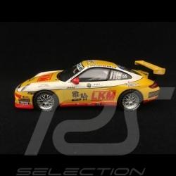 Porsche 911 GT3 type 997 LKM Carrera Cup Asia 2007 n° 55 1/43 Minichamps 400076455
