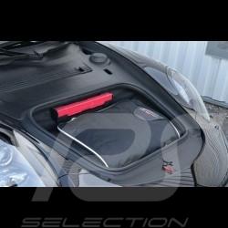 Porsche 996 Reisegepäck Maßgefertigt aus schwarzem Stoff - Trolley und Reisetasche