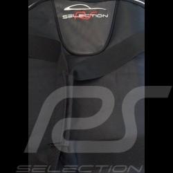 Porsche 997 Luggage set Custom fit black fabric - Wheeled trolley plus carrier bag