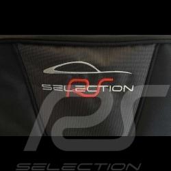 Porsche Boxster 987 Reisegepäck Maßgefertigt aus schwarzem Stoff - Trolley und Reisetasche