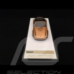 Singer 911 Porsche Targa 964 Gold 1/43 Make Up Vision VM135A