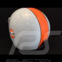 Casque Gulf bleu / orange Helmet Gulf blue / orange Helm Gulf blau / orange