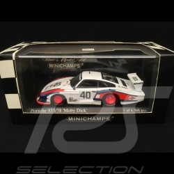 Porsche 935 'Moby Dick' DRM Norisring 1978 n° 40 Martini 1/43 Minichamps 430786740