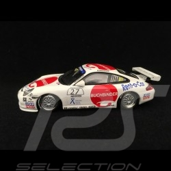 Porsche 911 GT3 Cup type 996 Carrera Cup Germany 2004 n° 27 Buchbinder 1/43 Minichamps 400046227