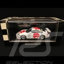 Porsche 911 GT3 Cup typ 996 Carrera Cup Deutschland 2004  n° 27 Buchbinder 1/43 Minichamps 400046227