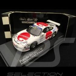 Porsche 911 GT3 Cup type 996 Carrera Cup Germany 2004 n° 27 Buchbinder 1/43 Minichamps 400046227