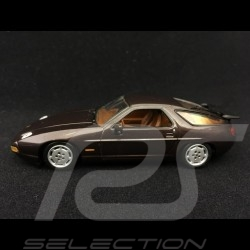 Porsche 928 S4 brown espresso 1991 1/43 Minichamps 400062420