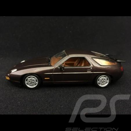 Porsche 928 S4 brown espresso 1991 1/43 Minichamps 400062420