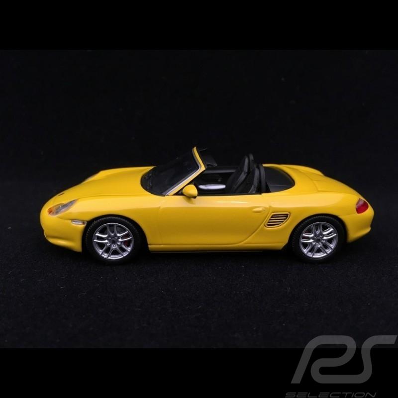 Porsche Boxster S 986 2002 Speedgelb 1/43 Minichamps 400062072