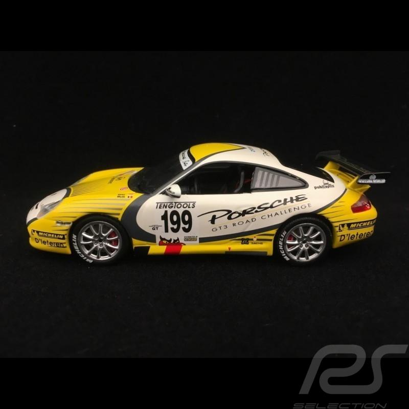 Porsche 911 typ 996 GT3 RS n° 199 Dieteren GT3 Road Challenge 1/43 Minichamps WAP02012716