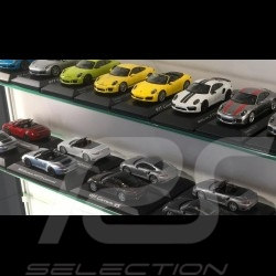 Wandvitrine für 8 bis 60 Porsche miniature 1/43 1/24 1/18 - Eiche
