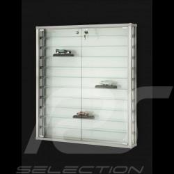 Vitrine murale spéciale modèles réduits jusqu'à 55 miniatures Porsche à l'échelle 1/43 Wall-mounted Display Unit Wandmontierte G