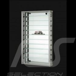 Wandmontierte Glasvitrine mit einer Tür massgeschnitten für bis zu 33 1/43 Modellautos parfüm