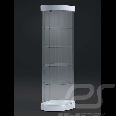 Wandmontierte Glasvitrine mit einer Tür massgeschnitten für bis zu 33 1/43 Modellautos