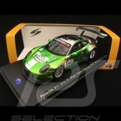 Porsche 911 type 991 GT3 R n° 540 Black Swan Racing 2ème 12h Bathurst 2018 1/43 Spark AS026