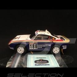 Porsche 959 Sieger Paris-Dakar 1986 n° 186 1/43 Spark S7815