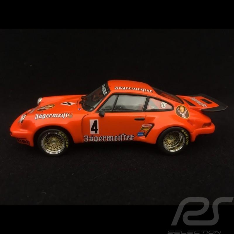 Porsche 911 3.0 Carrera RSR n° 4 Jägermeister Supersprint Nürburgring 1975 1/43 Minichamps 430756904