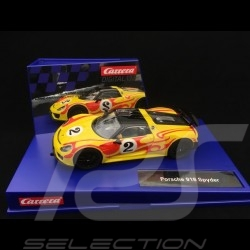 Slot car Porsche 918 Spyder 1970 n° 2 1/32 Carrera 20030877
