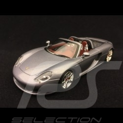 Porsche Carrera GT gris Kerguelen Seal grey Seal Grau 2003 1/43 Minichamps 400062630