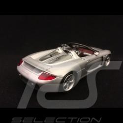 Porsche Carrera GT Prototype gris argent silver grey silbergrau 2000 1/43 Minichamps WAP02007411