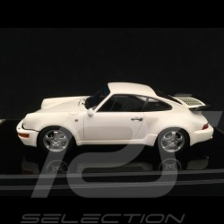 Porsche 911 type 964 Turbo 3.3 1991 blanc 1/43 Make Up Vision VM123D