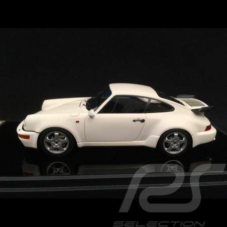 Porsche 911 type 964 Turbo 3.3 1991 white 1/43 Make Up Vision VM123D