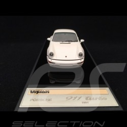 Porsche 911 typ 964 Turbo 3.3 1991 weiss 1/43 Make Up Vision VM123D