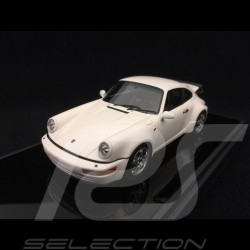 Porsche 911 type 964 Turbo 3.3 1991 white 1/43 Make Up Vision VM123D