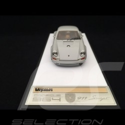 Singer 911 Porsche 964 light gray 1/43 Make Up Vision VM111E