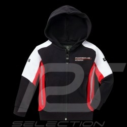 Hoodie Kapuzenjacke Porsche Motorsport 2 Collection Sweatshirt Jacke Porsche Design WAP432K - Kinder