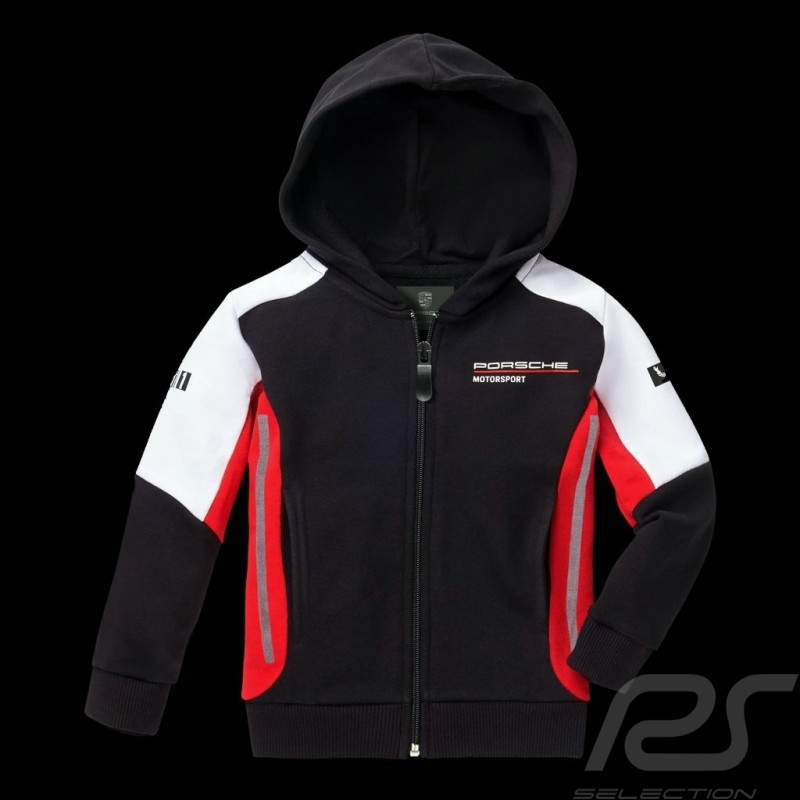 Veste à capuche hoodie sweatshirt jacket Kapuzenjacke Porsche Motorsport 2 Collection molleton Porsche Design WAP432K
