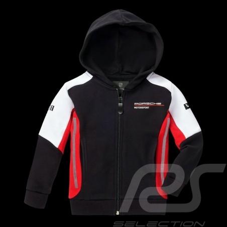 Hoodie Kapuzenjacke Porsche Motorsport 2 Collection Sweatshirt Jacke Porsche WAP432K - Kinder