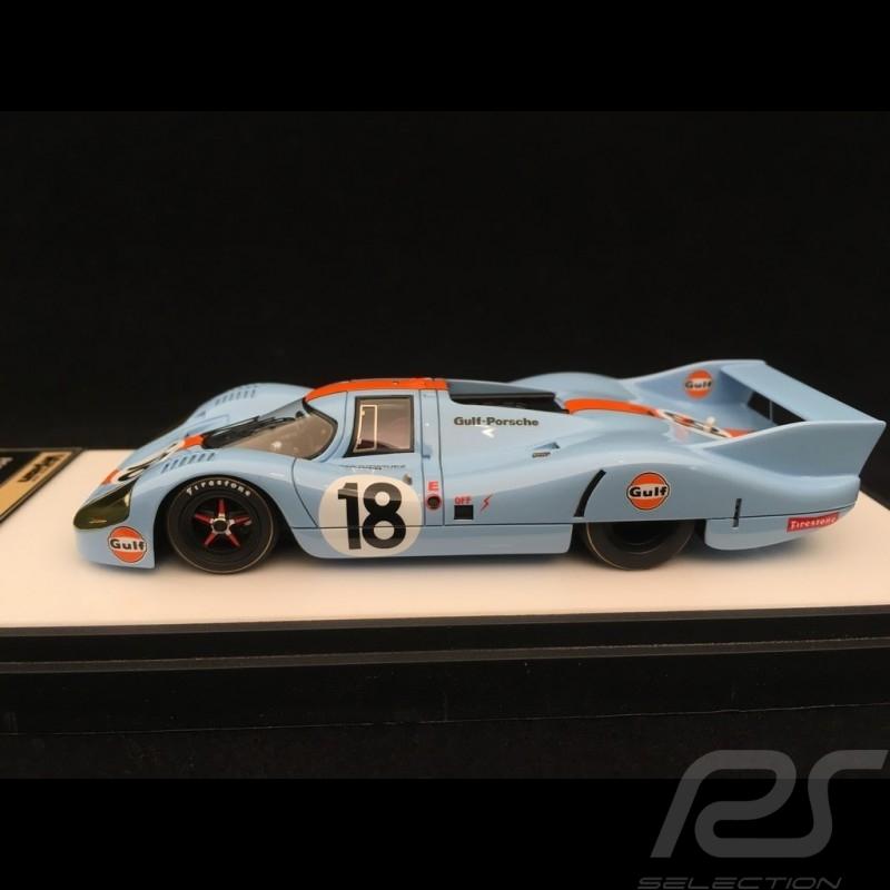 Porsche 917 LH Le Mans 1971 n° 18 Gulf 1/43 Make Up Vision VM140B