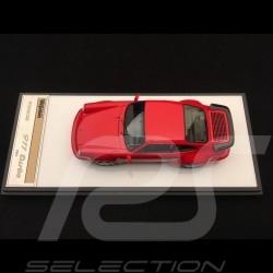 Porsche 911 type 964 Turbo 3.3 1991 Guards red 1/43 Make Up Vision VM123C