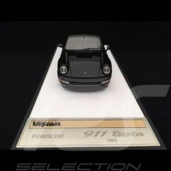 Porsche 911 type 964 Turbo 3.3 1991 Black 1/43 Make Up vision VM123B