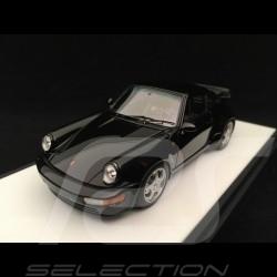 Porsche 911 typ 964 Turbo 3.3 1991 Black 1/43 Make Up vision VM123B