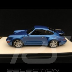Porsche 911 type 964 Turbo 3.3 1991 Metallic Blue 1/43 Make Up Vision VM123E
