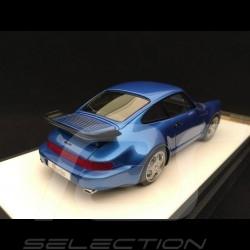 Porsche 911 typ 964 Turbo 3.3 1991 Metallic Blue 1/43 Make Up Vision VM123E