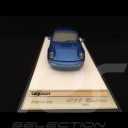 Porsche 911 type 964 Turbo 3.3 1991 Metallic Blue 1/43 Make Up Vision VM123E
