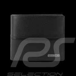 Porsche wallet credit card holder 3 Sport French Classic black leather WAP0300160D