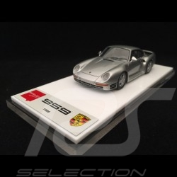 Porsche 959 1986 silver 1/43 Make Up Eidolon EM305C