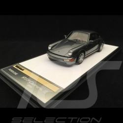 Porsche 911 type 964 Carrera 2 1990 gun metallic 1/43 Make Up Vision VM125C