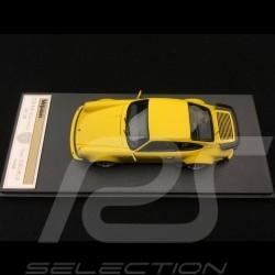 Porsche 911 typ 930 Turbo 3.3 1988 Speed yellow 1/43 Make Up Vision VM088E