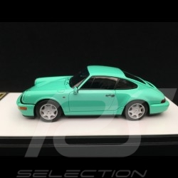Porsche 911 type 964 Carrera 2 1990 Mint Green 1/43 Make Up Vision VM125E