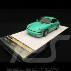 Porsche 911 typ 964 Carrera 2 1990 Mint Green 1/43 Make Up Vision VM125E